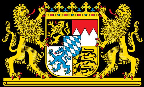 Wappen des freistaat Bayerns