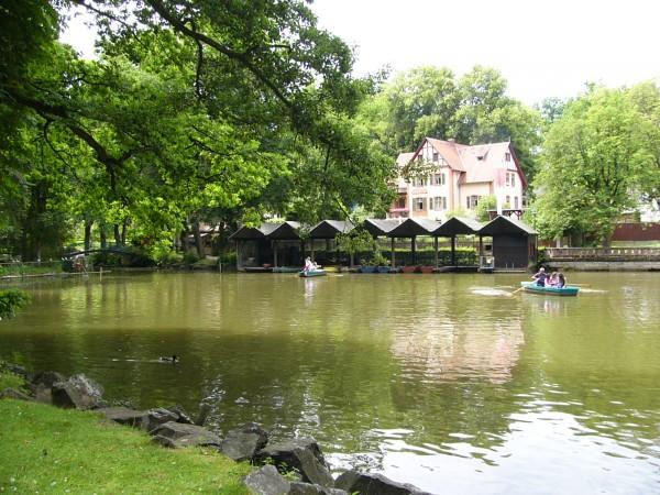Tierpark Röhrensee – See mit Bootshaus