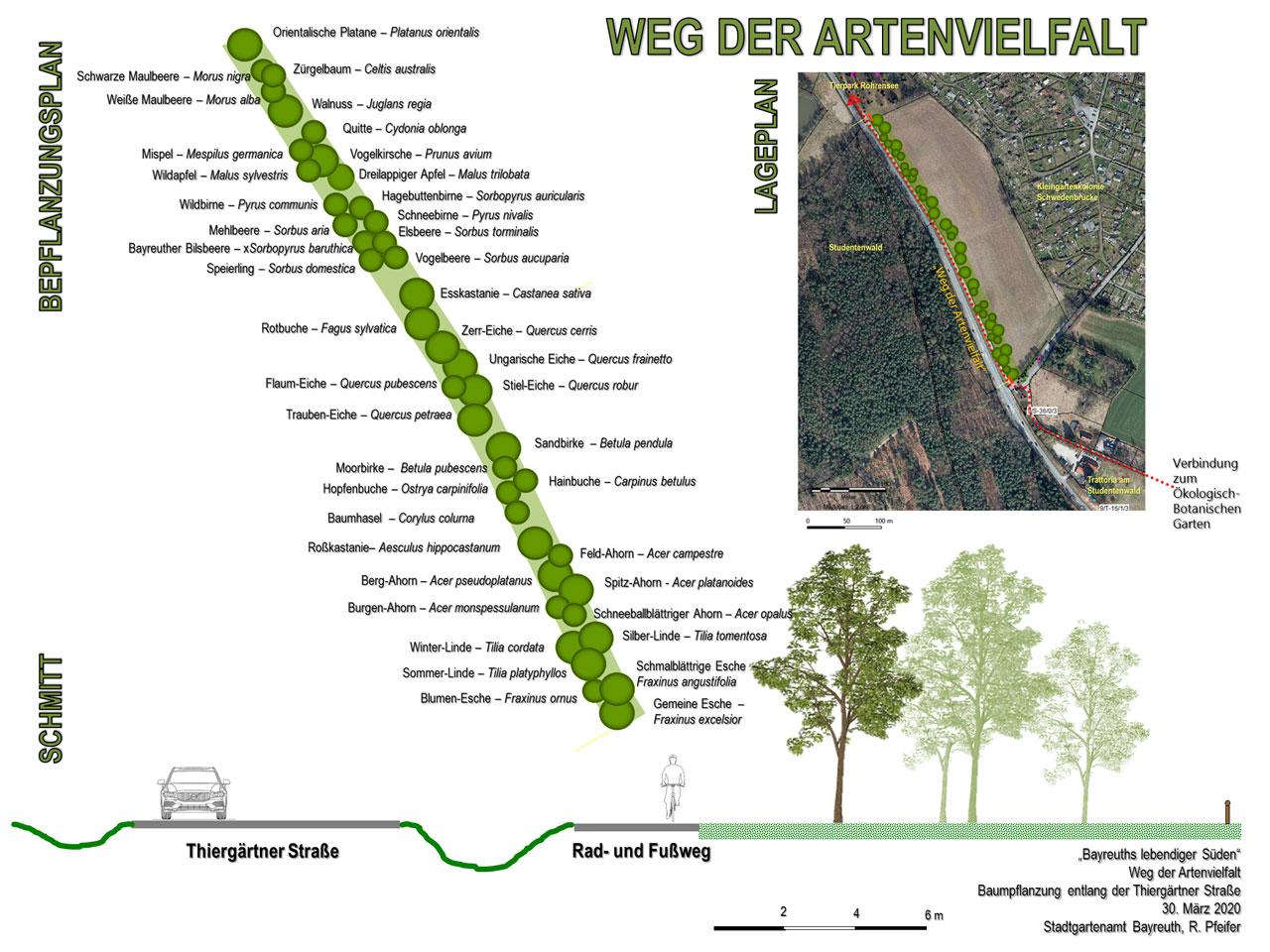Weg der Artenvielfalt – Baumpatenschaft